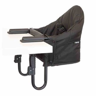 Guzzie + Guss Guzzie + Guss - Siège de Table Perch/Perch Clip On Chair, Noir/Black