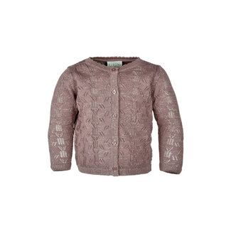 Fixoni Fixoni - Knit Cardigan, Taupe Pink