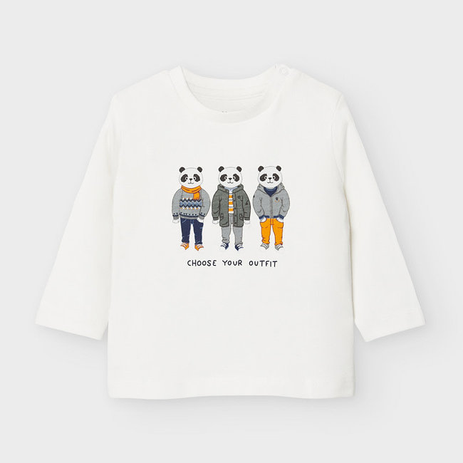 """Mayoral Mayoral - """"Friends"""" T-Shirt, Snow White"""