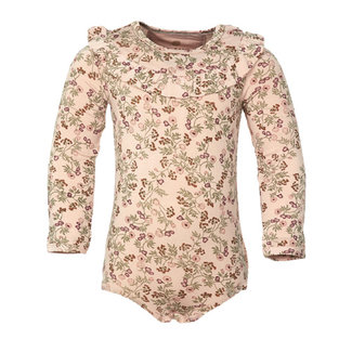 En Fant En Fant - Long Sleeves Onesie, Pink Flowers