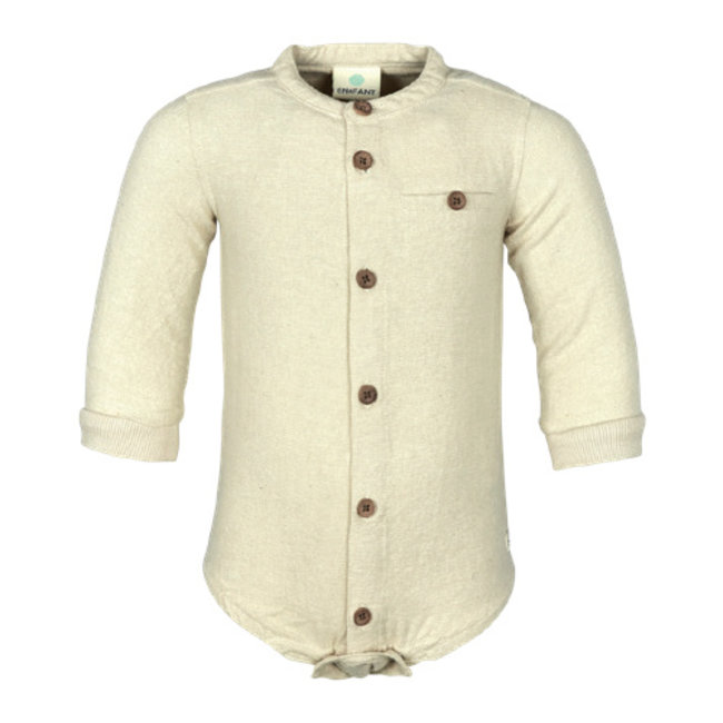 En Fant En Fant - Bodysuit Shirt, Cream