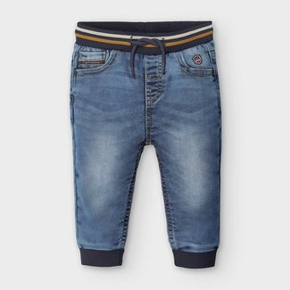 Mayoral Mayoral - Soft Denim Jogger Pants, Basic