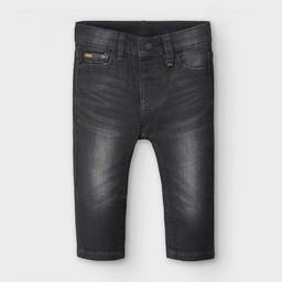 Mayoral Mayoral - Soft Denim Pants, Black