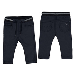 Mayoral Mayoral - Structure Pants, Deep Blue