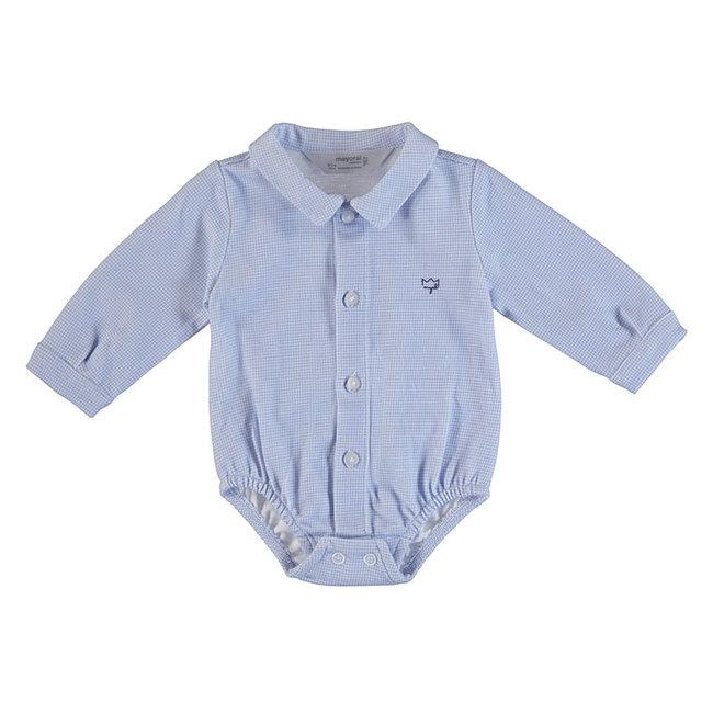Mayoral Mayoral - Shirt Bodysuit, Blue