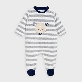 Mayoral Mayoral - Striped Pyjama, Vigo Grey