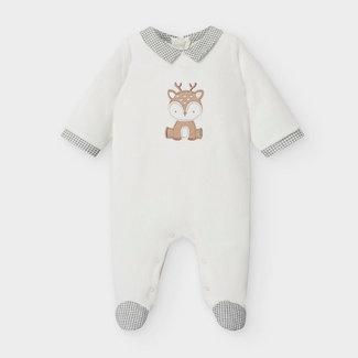 Mayoral Mayoral - Pattern Pyjama, Ecru