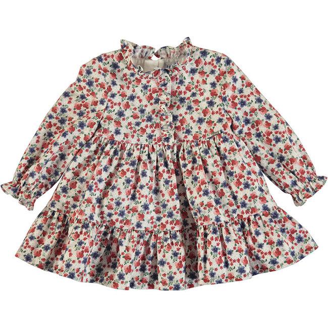 Mayoral Mayoral - Printed Dress, Carmine
