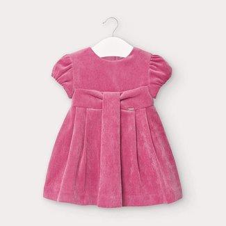 Mayoral Mayoral - Micro Velvet Dress, Azalea