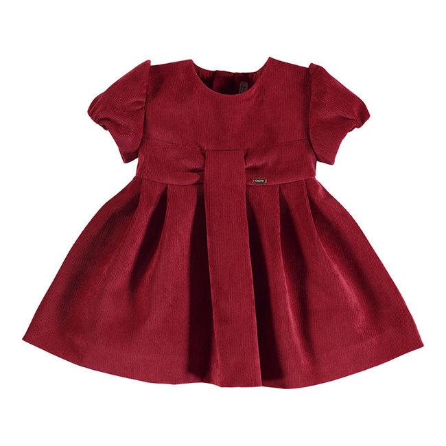 Mayoral Mayoral - Micro Velvet Dress, Carmine