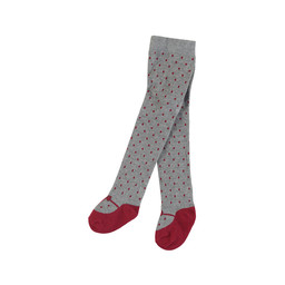 Mayoral Mayoral - Jacquard Tights, Vigo Silver