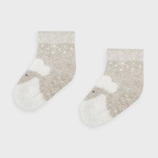 Mayoral Mayoral - Non-slip Socks, Mazapan