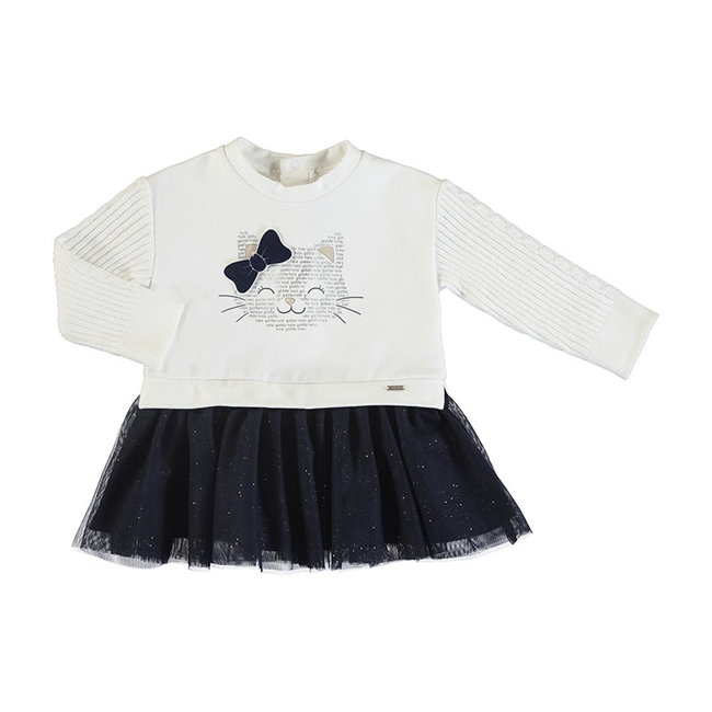 Mayoral Mayoral - Cat Tulle Dress, Navy