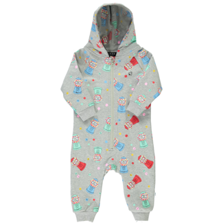 Birdz Children & Co Birdz - Romper, Grey Gum Machine