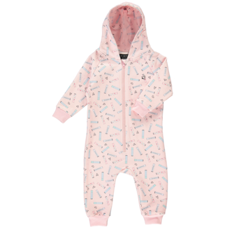 Birdz Children & Co Birdz - Romper, Pink Lipsmacker