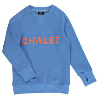 Birdz Children & Co Birdz - Chalet Sweat, Blue Orange