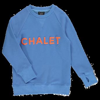 Birdz Children & Co Birdz - Chalet Sweat, Blue Orange