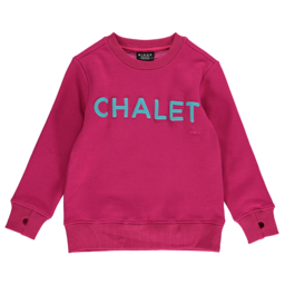 Birdz Children & Co Birdz - Chalet Sweat, Pink Blue