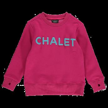 Birdz Children & Co Birdz - Chalet Sweat, Pink Blue