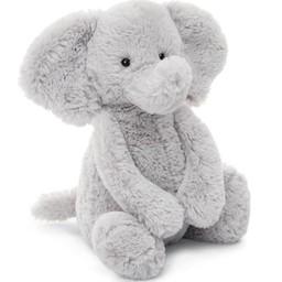 """Jellycat Jellycat - Bashful Silver Elephant 12"""""""
