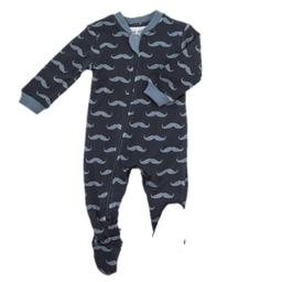 Zippy Jamz Zippy Jamz - Footie Pyjama, Mr Mustache