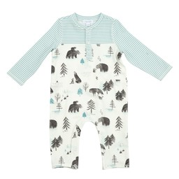 Angel Dear Angel Dear - Romper with Pockets, Mama and Cubs