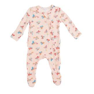 Angel Dear Angel Dear - Pyjama à Pattes à Volants, Patins à Roulette