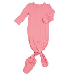 Angel Dear Angel Dear - Knotted Gown, Flamingo Pink