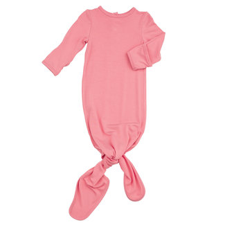Angel Dear Angel Dear - Knotted Gown, Flamingo Pink