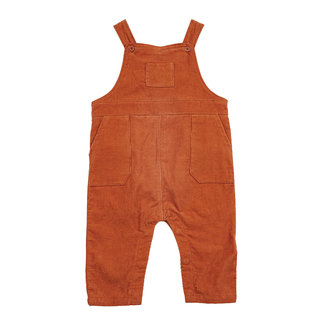 Angel Dear Angel Dear - Corduroy Overalls, Rust