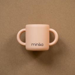 Minika Minika - Silicone Learning Cup with Handles, Blush