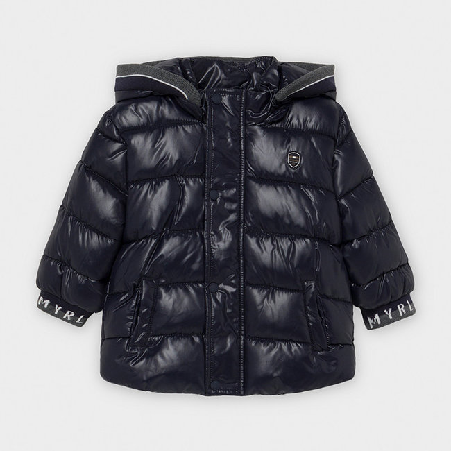 Mayoral Mayoral - Quilted Jacket, Black