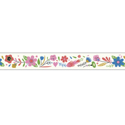 Djeco Djeco - Decorative Tape, Flowers