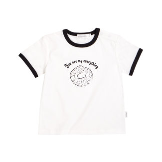Miles Baby Miles Baby - Knit T-Shirt, Off White