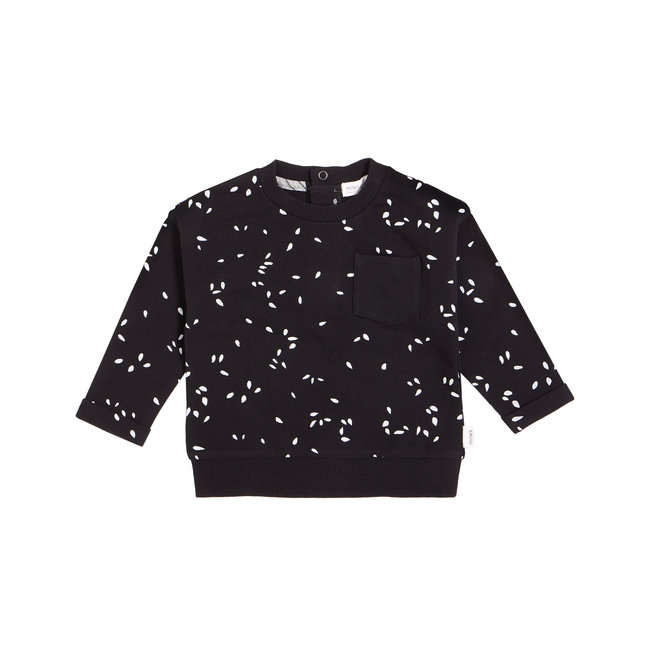 Miles Baby Miles Baby - Knit Sweater, Black