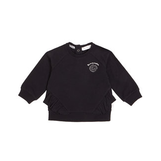 Miles Baby Miles Baby - Girl's Knit Sweater, Black