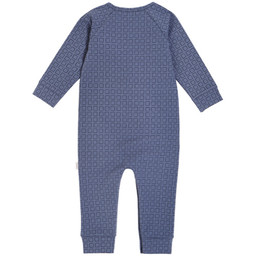 Miles Baby Miles Baby - Knit Jumpsuit, Dark Blue