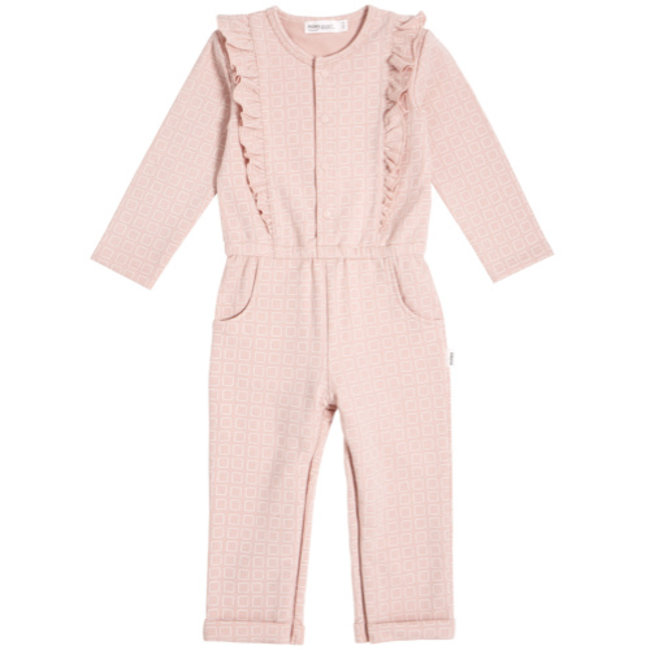 Miles Baby Miles Baby - Knit Jumpsuit, Light Pink