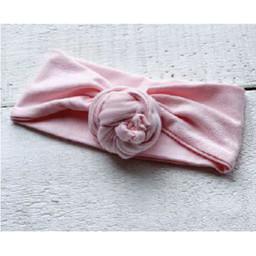 Mini Bretzel Mini Bretzel - Bandana Flower Bun Premium, Rose Pâle