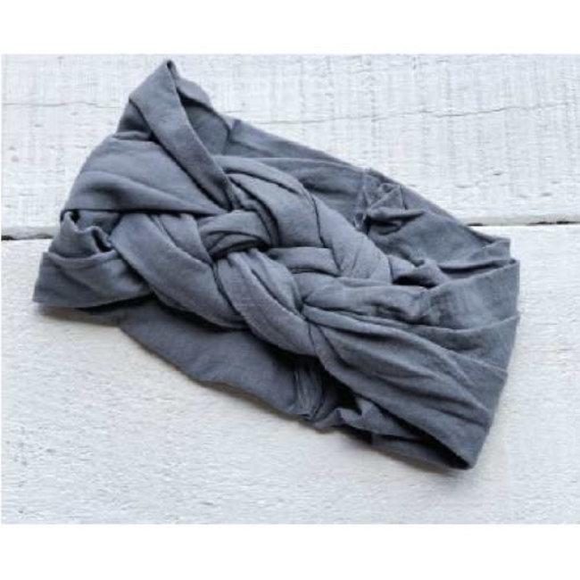 Mini Bretzel Mini Bretzel - Twinning Headband, Baby, Grey