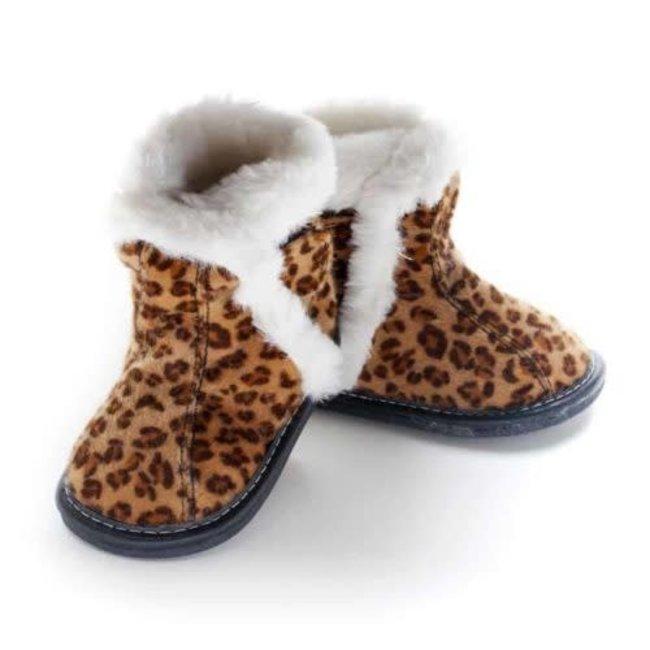 Jack & Lily Jack & Lily - My Mocs Boots, Tilly, Leopard Print