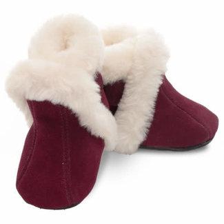 Jack & Lily Jack & Lily - My Mocs Boots, Penny, Bordeaux Suede