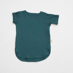 Little Yogi Little Yogi - Waffle T-Shirt, Emerald