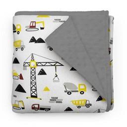 Olé Hop Olé Hop - Minky Blanket, Building Dreams