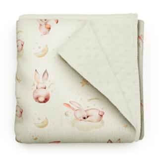 Olé Hop Olé Hop - Minky Blanket, Rabbit Dream