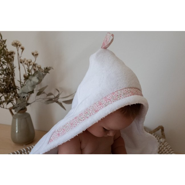 Bouton Jaune Bouton Jaune - Hooded Towel, Flowers