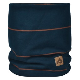 Perlimpinpin Perlimpinpin - Cotton Jersey Neck Warmer, Navy Stripe, 0-30 Months