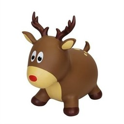 Farm Hoppers Farm Hoppers - Jumping Animal, Red Nose Reindeer