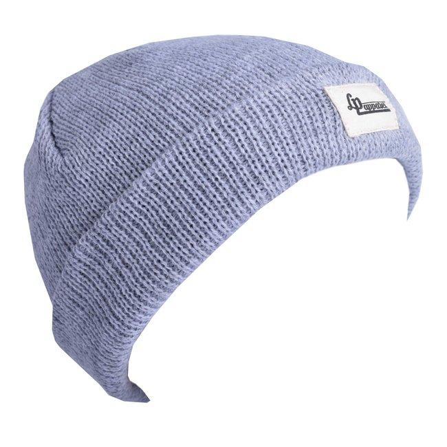 L&P L&P - Light Knit Hat New York 2.0, Mineral Gray