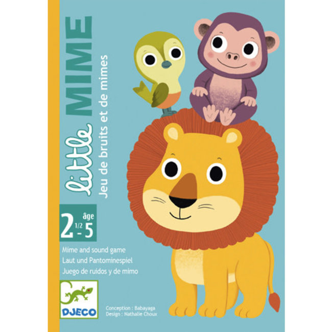 Djeco Djeco - Little Mime Game